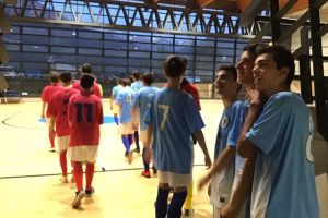 CALCIO A 5 UNDER 17: KICK OFF-OLYMPIC MORBEGNO 6-1