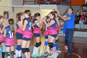 VOLLEY: EMOZIONANTE DEBUTTO PER LE UNDER 13
